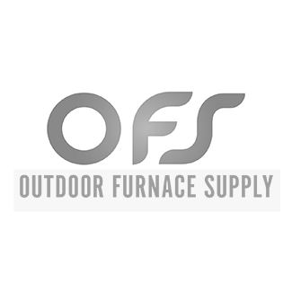 "5""x12"" Brazed 40 Plate Heat Exchanger Outdoor Wood Furnace w/Y-strainer [1""]"