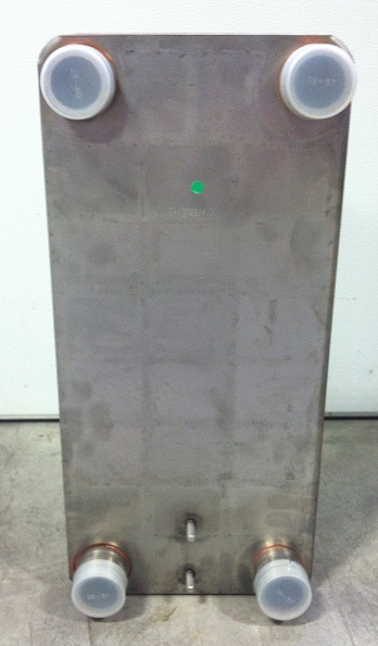 "Brent Industries LLC 10""x20"" Brazed 10 Plate Heat Exchanger Outdoor Wood Furnace [2"" MPT] at Sears.com"