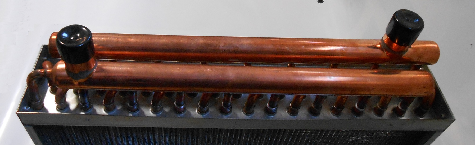 Air Heat Exchanger ~ Water to air heat exchanger hot coil outdoor