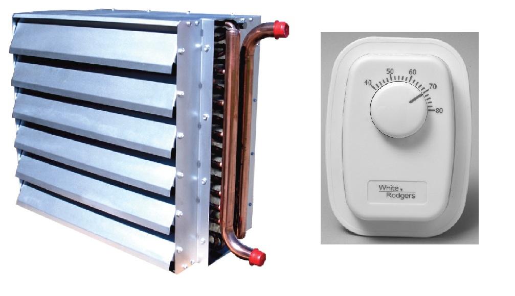 Kit: 159k Elite Heat EHUH140 Unit Heater - Variable Speed Fan w/Line Thermostat at Sears.com